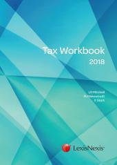 TAX WORKBOOK 2018 cover