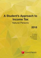 Student App to Inc Tax NP 2018 cover