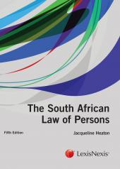 Law of Persons 5th edition cover