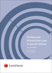 Consumer Protection Law in South Africa Second Edition cover
