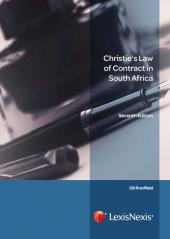 Christies Law of Contract in South Africa cover