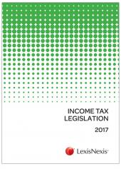Income Tax Legislation 2017 cover