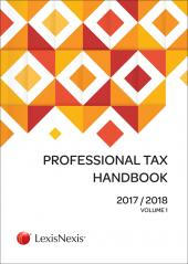 Professional Tax Handbook 2017/2018 cover