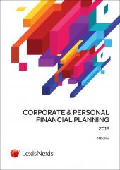 Corporate & Personal Financial Planning 2018 cover