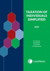 Taxation of Individuals Simplified 2019 cover