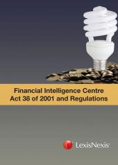 Financial Intelligence Centre Act No. 38 of 2001 and Regulations cover