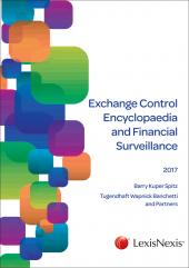Exchange Control Encyclopaedia and Financial Surveillance 2017 cover