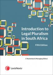 Introduction to Legal Pluralism in South Africa cover
