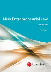 New Entrepreneurial Law 2Ed cover