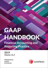 GAAP Handbook 2019 Volumes 1 and 2 (CRC) cover