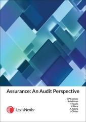 Assurance an Audit Perspective (First Edition) cover