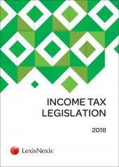 Income Tax Legislation 2018 cover