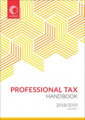 Professional Tax Handbook 2018/2019 cover