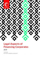 Legal Aspects of Financing Corporates cover