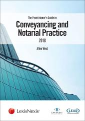 The Practitioners Guide to Conveyancing and Notarial Practice cover