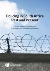 Policing in South Africa Past and Present (1st edition) cover