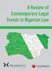 A Review of Contemporary Legal Trends in Nigerian Law cover