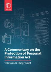 A Commentary on the Protection of Personal Information Act cover
