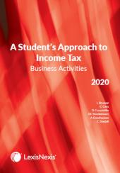 Students Approach to Income Tax Business Activities 2020 cover