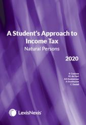 Students Approach to Income Tax Natural Persons 2020 cover