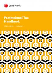 Professional Tax Handbook 2019/2020 cover