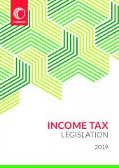 Income Tax Legislation 2019 cover