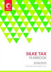 Silke Tax Yearbook 2018/2019 cover