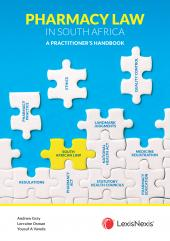Pharmacy Law in South Africa: A Practitioner's Handbook cover
