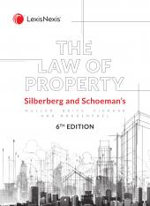 Silberberg and Schoemans the Law of Property 6th Edition cover