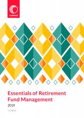 Essentials of Retirement Fund Management 2019 cover