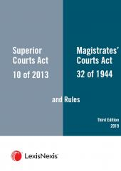 Superior Courts Act  and Rules and The Magistrates Courts Act and Rules 3rd Edition cover