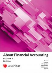 About Financial Accounting Volume 1 cover