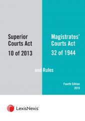 Superior Courts Act  and Rules and The Magistrates Courts Act and Rules 4th Edition cover
