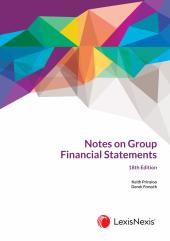 Notes on Group Financial Statements (18th ed) cover