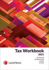 Tax Workbook 2021 cover
