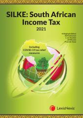 SILKE: South African Income Tax 2021 cover