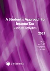 Students Approach to Income Tax Business Activities 2021 cover
