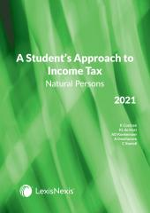 Students Approach to Income Tax Natural Persons 2021 cover