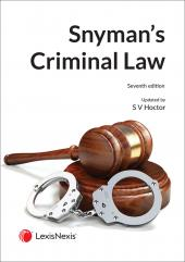 Criminal Law 7th Edition cover