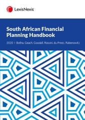 South African Financial Planning Handbook 2020 cover