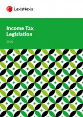 Income Tax Legislation 2020 cover