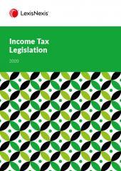 Income Tax Legislation 2020 cover