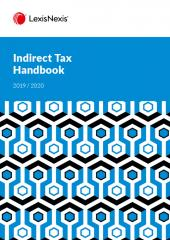 Indirect Tax Handbook 2019/2020 cover