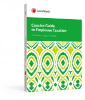 Concise Guide to Employee Taxation 2021 cover
