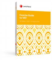 Concise Guide to VAT 2021 26th Edition cover