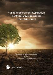 Public Procurement Regulation in Africa: Development in Uncertain Times cover