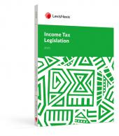 Income Tax Legislation 2021 cover