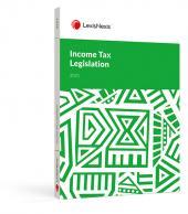 Income Tax Legislation 2021 cover
