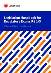 Legislation Handbook for Regulatory Exams RE1/5 cover