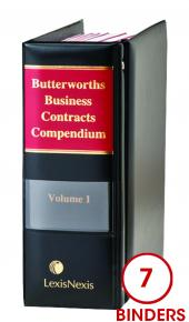 Butterworths Business Contracts Compendium cover